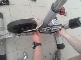 замена приводного ремня тренажера